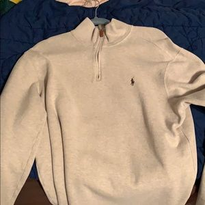 Polo 1/4 Zip Down Pullover